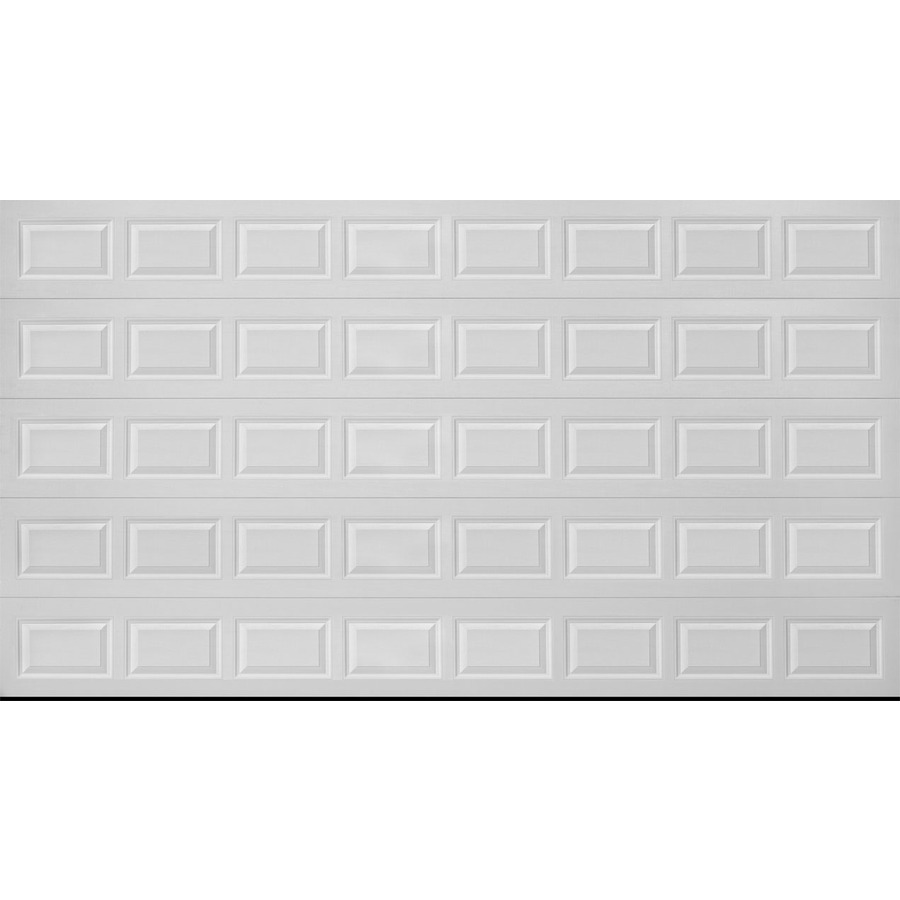 Dalton 9600 series 16 ft x 7 ft insulated almond double for 16 x 8 garage door