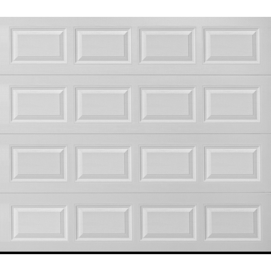 Shop pella traditional series 9 ft x 8 ft insulated white for 18 ft x 8ft garage door