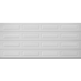 Shop pella traditional series 16 ft x 7 ft insulated white for 16 x 21 garage door panels