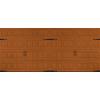 Pella Carriage House Series 192-in x 84-in Insulated Golden Oak Double Garage Door