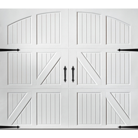 Shop Pella Carriage House Series 108 In X 84 In White