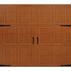 ReliaBilt 8-ft x 7-ft 890 Series Woodgrain Garage Door