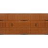 Pella Carriage House Series 192-in x 84-in Golden Oak Double Garage Door
