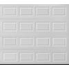 Pella Sutherland Series 96-in x 78-in True White Single Garage Door