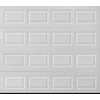 Pella Traditional Series 108-in x 84-in White Single Garage Door