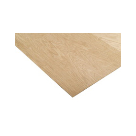 Oak Plywood (Common: 1/4-in x 2-ft x 4-ft; Actual: 0.25-in x 24-in x 48-in)