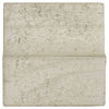 Novabrik 100 sq ft Smooth Mortarless Marble White Brick Veneer