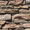 Coronado 15 Linear Ft. Burnt Oak Ledgestone Veneer Corners