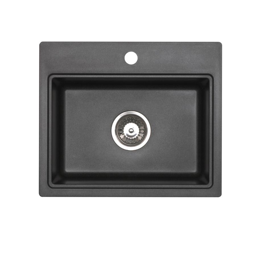 ... zoom in jacuzzi single basin drop in or undermount granite bar sink