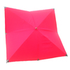 allen + roth 8-ft 2-in x 8-ft 2-in Red Square Patio Umbrella