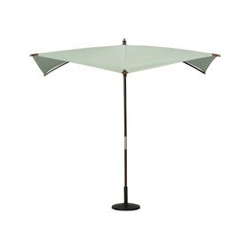 allen + roth 8-ft 2-in x 8-ft 2-in Aqua Square Patio Umbrella
