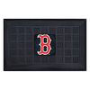 FANMATS 19-in x 30-in Black Boston Red Sox Rectangular Door Mat