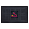 FANMATS 19-in x 30-in St. Louis Cardinals Rectangular Door Mat