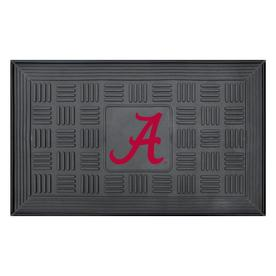 FANMATS 19-in x 30-in University of Alabama Door Mat