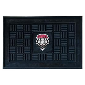 FANMATS 19-in x 30-in University of New Mexico Door Mat
