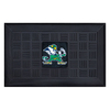 FANMATS 19-in x 30-in University of Notre Dame Door Mat