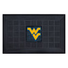 FANMATS 19-in x 30-in West Virginia University Door Mat