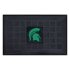 FANMATS 19-in x 30-in Michigan State University Door Mat