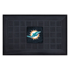 FANMATS 19-in x 30-in NFL Miami Dolphins Door Mat