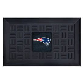FANMATS 19-in x 30-in NFL New England Patriots Door Mat