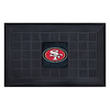 FANMATS 19-in x 30-in NFL San Francisco 49ers Door Mat