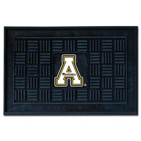 FANMATS 19-in x 30-in Appalachian State Door Mat