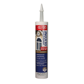 DuPont 9.8-oz Clear Silicone Window and Door Caulk
