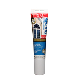 DuPont 2.8-oz Clear Silicone Window and Door Caulk