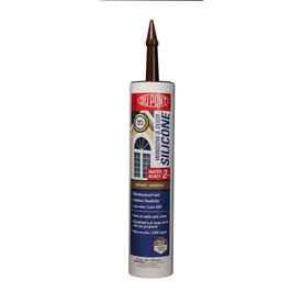 DuPont 9.8-oz Brown Silicone Window and Door Caulk