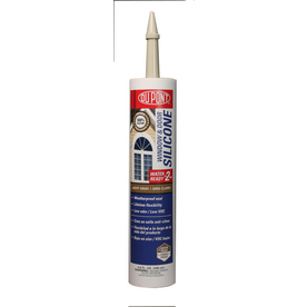 DuPont 9.8-oz Light Gray Silicone Window and Door Caulk