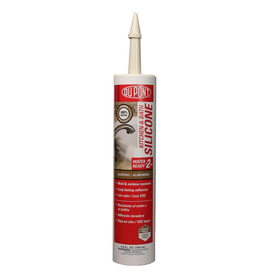 DuPont 9.8 oz Almond Silicone Kitchen and Bathroom Caulk