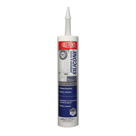 DuPont 9.8 oz Clear Silicone Window and Door Caulk
