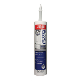 DuPont 9.8 oz White Silicone Window and Door Caulk