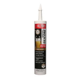 DuPont 9.5-oz White Paintable Silicone Specialty Caulk