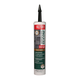 DuPont 9.8-oz Black Silicone Specialty Caulk