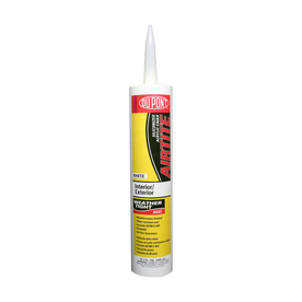 DuPont 10.1 oz Clear Latex Window and Door Caulk