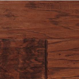 LM Flooring Hand Scraped 4.92-in W Prefinished Hickory Engineered Hardwood Flooring (Fireside)