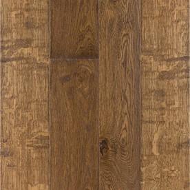 LM Flooring 0.377-in Oak Engineered Hardwood Flooring Sample (Cottage)