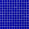 Elida Ceramica Royal Blue Uniform Squares Mosaic Glass Wall Tile (Common: 12-in x 12-in; Actual: 11.75-in x 11.75-in)