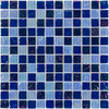 Elida Ceramica 12-in x 12-in Sea Oil Glass Wall Tile