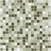 Elida Ceramica 12-in x 12-in Seaweed Stone Glass Wall Tile