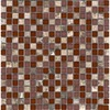 Elida Ceramica 12-in x 12-in Cherry Stone Glass Wall Tile
