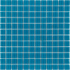 Elida Ceramica Glass Mosaic Aqua Uniform Squares Mosaic Glass Wall Tile (Common: 12-in x 12-in; Actual: 11.75-in x 11.75-in)