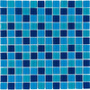 Elida Ceramica 12-in x 12-in Ocean Glass Wall Tile