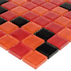 Elida Ceramica Passion Glass Mosaic Square Indoor/Outdoor Wall Tile (Common: 12-in x 12-in; Actual: 11.75-in x 11.75-in)