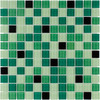 Elida Ceramica 12-in x 12-in Pop Green Glass Wall Tile