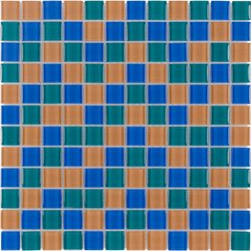 Elida Ceramica 12-in x 12-in Summer Glass Wall Tile