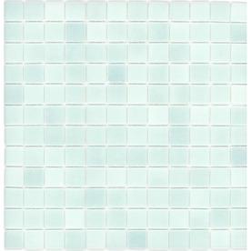 Shop Elida Ceramica Recycled Light Blue Green Glass Mosaic