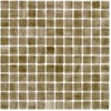 Elida Ceramica 12-1/2-in x 12-1/2-in Recycled Glass Mosaic Dune Glass Wall Tile