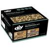 """DIY Network 15-Pack 12"""" x 12"""" Backsplash Kit Multi Grain Glass Wall Tile"""